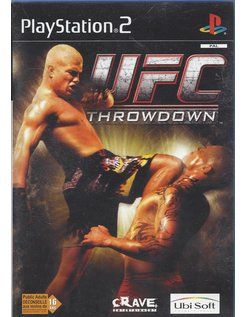 UFC THROWDOWN for Playstation 2 PS2