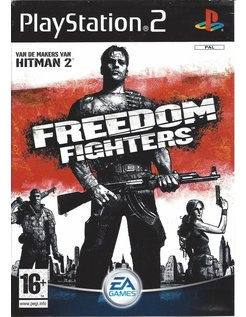 FREEDOM FIGHTERS for Playstation 2 PS2 - manual in Dutch