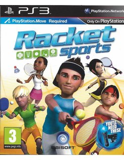 RACKET SPORTS for Playstation 3 PS3