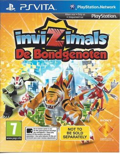 INVIZIMALS DE BONDGENOTEN for PS VITA