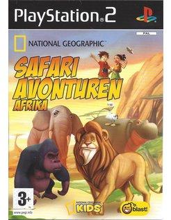 NATIONAL GEOGRAPHIC SAFARI AVONTUREN AFRIKA for Playstation 2 PS2