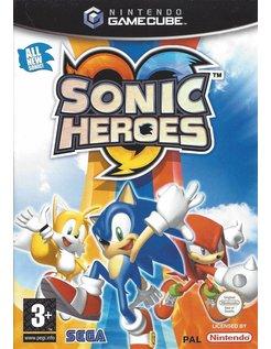 SONIC HEROES voor Nintendo Gamecube