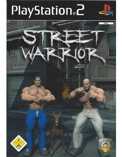 STREET WARRIOR for Playstation 2 PS2