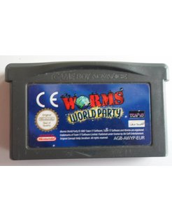 WORMS WORLD PARTY voor Game Boy Advance GBA