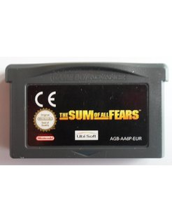 THE SUM OF ALL FEARS for Game Boy Advance GBA