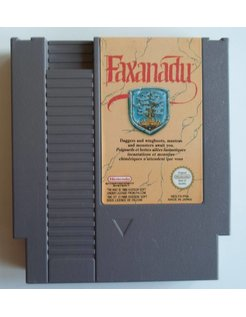 FAXANADU for Nintendo NES
