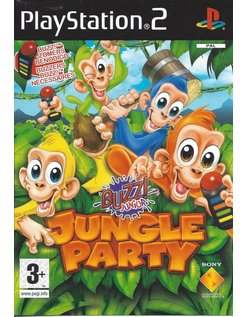 BUZZ JUNIOR JUNGLE PARTY for Playstation 2 PS2 - manual in English, French, Dutch