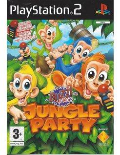 BUZZ JUNIOR JUNGLE PARTY für Playstation 2 PS2 - Anleitung in EN, FR, NL