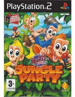 BUZZ JUNIOR JUNGLE PARTY für Playstation 2 PS2 - Anleitung in Englisch