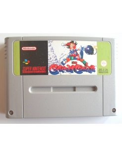 CRAZY CHASE for SNES Super Nintendo