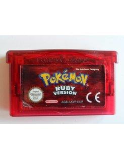 POKEMON RUBY VERSION für Game Boy Advance GBA