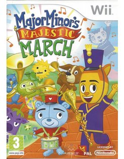 MAJOR MINOR'S MAJESTIC MARCH for Nintendo Wii