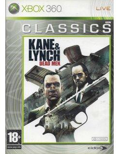 KANE & LYNCH DEAD MEN for Xbox 360 - CLASSICS