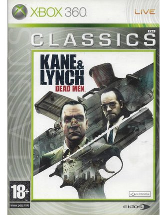 KANE & LYNCH DEAD MEN for Xbox 360 - CLASSICS