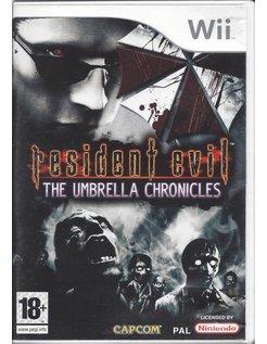 RESIDENT EVIL THE UMBRELLA CHRONICLES voor Nintendo Wii