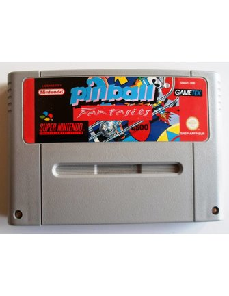 PINBALL FANTASIES for SNES Super Nintendo