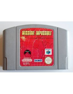 MISSION IMPOSSIBLE for Nintendo 64 N64
