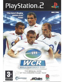 WORLD CHAMPIONSHIP RUGBY for Playstation 2 PS2