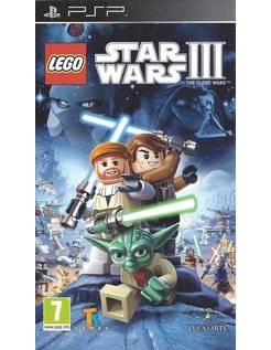 LEGO STAR WARS III THE CLONE WARS for PSP