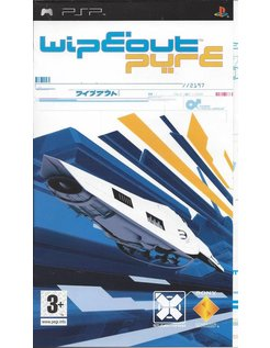 WIPEOUT PURE voor PSP - manual in Spanish Español