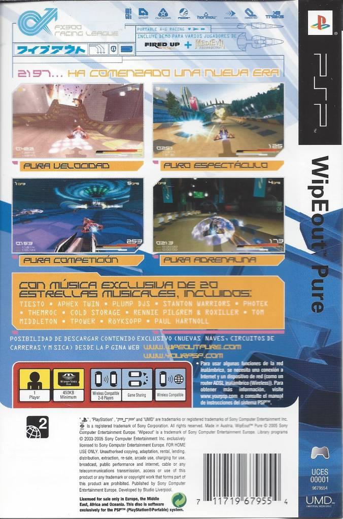 wipeout pure for psp manual in spanish passion for games rh gamewebshop eu Deteccion De Defectos En Piezas manual de psp 3001 en español