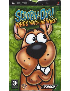 SCOOBY DOO WHO'S WATCHING WHO for PSP