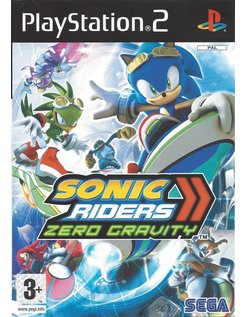 SONIC RIDERS ZERO GRAVITY for Playstation 2 PS2