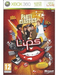 LIPS PARTY CLASSICS for Xbox 360