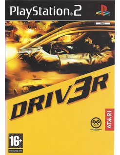 DRIVER 3 DRIV3R voor Playstation 2 PS2