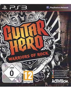 GUITAR HERO WARRIORS OF ROCK for Playstation 3 PS3