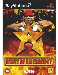 STATE OF EMERGENCY for Playstation 2 PS2
