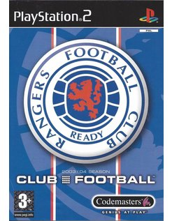 RANGERS CLUB FOOTBALL for Playstation 2 PS2