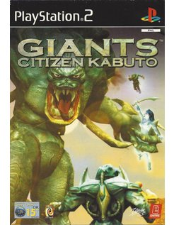 GIANTS CITIZEN KABUTO for Playstation 2 PS2