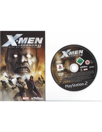 X-MEN LEGENDS II (2) RISE OF APOCALYPSE for Playstation 2 PS2