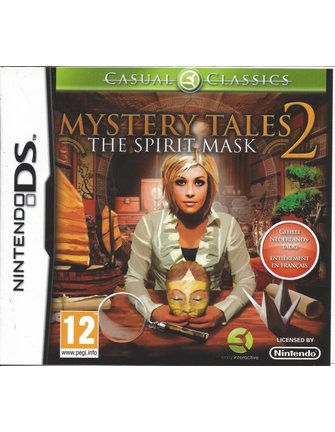 MYSTERY TALES 2 THE SPIRIT MASK for Nintendo DS