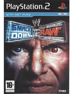 WWE SMACKDOWN VS RAW voor Playstation 2 PS2