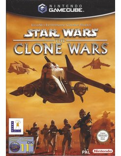 STAR WARS THE CLONE WARS for Nintendo Gamecube