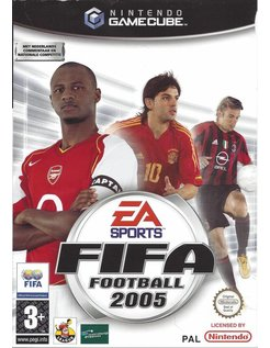 FIFA FOOTBALL 2005 für Nintendo Gamecube