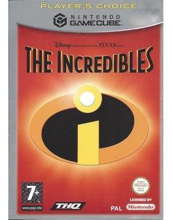 THE INCREDIBLES voor Nintendo Gamecube