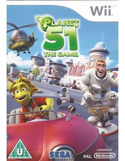 PLANET 51 THE GAME for Nintendo Wii