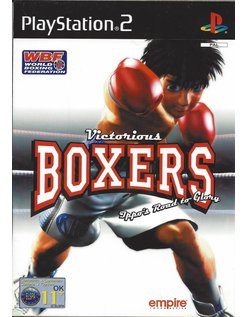 VICTORIOUS BOXERS for Playstation 2 PS2