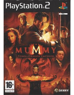 THE MUMMY TOMB OF THE DRAGON EMPEROR for Playstation 2 PS2