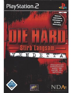DIE HARD VENDETTA for Playstation 2 PS2 - German
