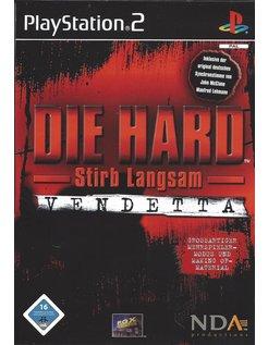 DIE HARD VENDETTA for Playstation 2 PS2 - German