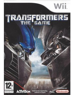 TRANSFORMERS THE GAME for Nintendo Wii