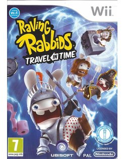 RAVING RABBIDS TRAVEL IN TIME for Nintendo Wii
