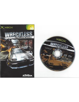 WRECKLESS THE YAKUZA MISSIONS for Xbox