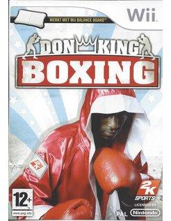 DON KING BOXING voor Nintendo Wii