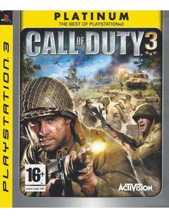 CALL OF DUTY 3 voor Playstation 3 PS3