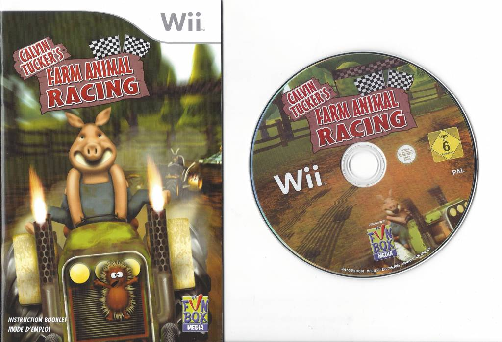 Image of: Animal Parade Calvin Tuckers Farm Animal Racing Voor Nintendo Wii Passion For Games Calvin Tuckers Farm Animal Racing Voor Nintendo Wii Passion For